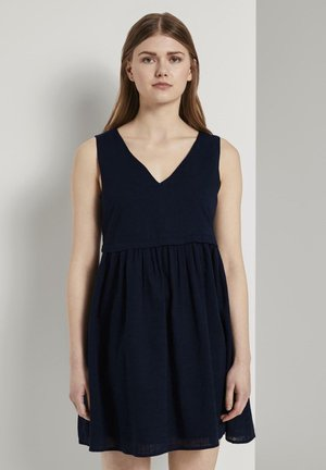 Day dress - real navy blue