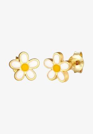 FLOWER DESIGN - Oorbellen - gold