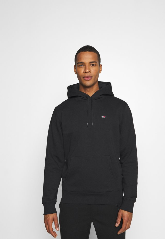 REGULAR FLEECE HOODIE - Sweat à capuche - black