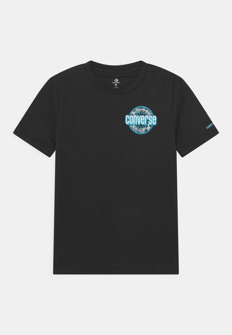 Converse - SLEEVE LOGO GRAPHIC UNISEX - Camiseta estampada - black