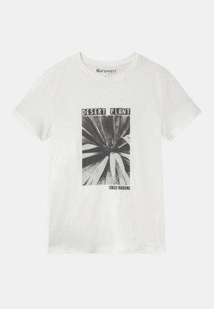 BOYS - T-shirt print - naturweiss reactive