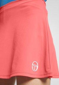 sergio tacchini - TANGRAM SKORT - Spódnica sportowa - coral pink/white - 5