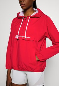 Champion - HALF ZIP - Větrovka - red - 5