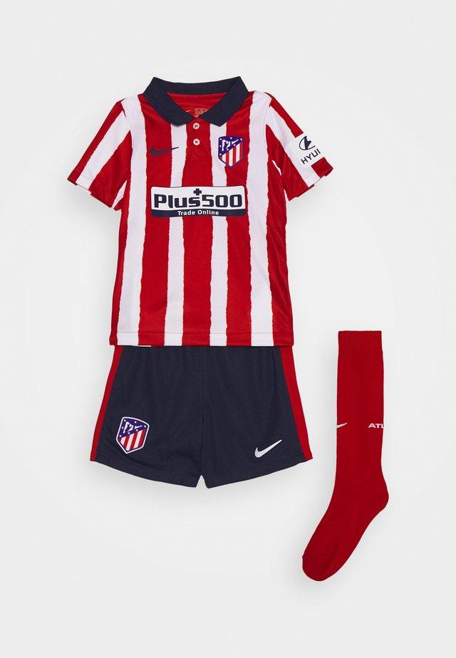 ATLETICO MADRID SET - Sports shorts - sport red/midnight navy