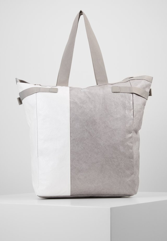 VARY TOTE - Shopping bag - grey/white