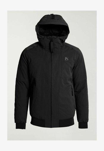 RETURN HYBRID - Light jacket - black