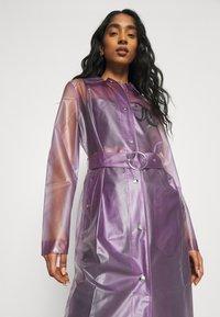 Juicy Couture - VIRGINIA SHEER COAT - Manteau classique - pastel lilac - 3