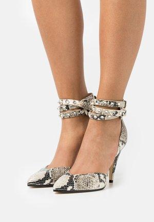JENISE - Classic heels - roccia/black