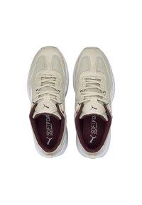 Puma - CILIA - Baskets basses - vaporous gray-white-burgundy - 1
