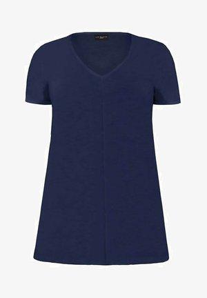 NAVY LONGLINE  - Basic T-shirt - dark blue