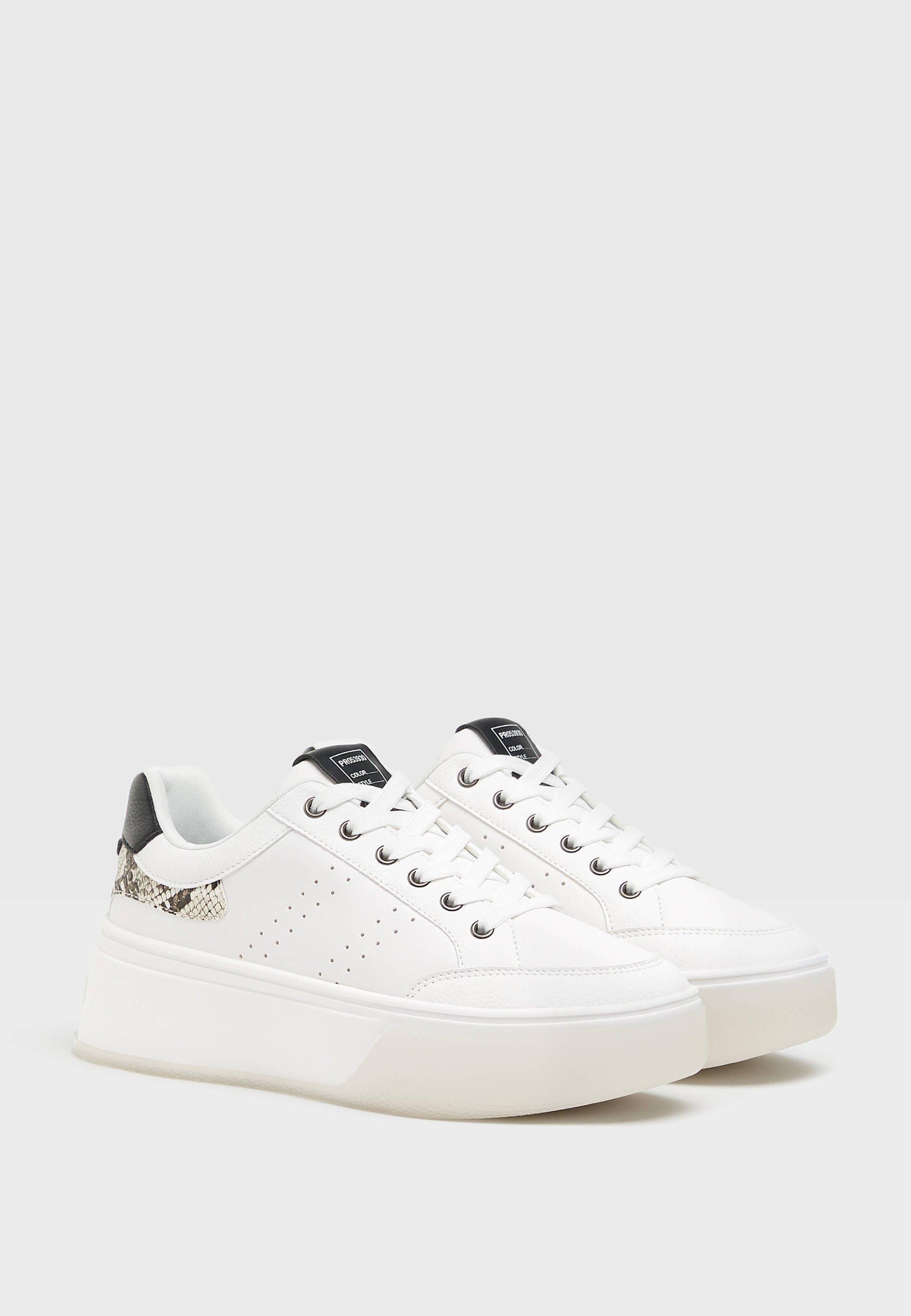 TIERPRÄGUNG Sneakers white