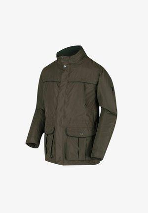 RAWSON - Waterproof jacket - dark khaki