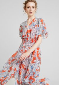 Pedro del Hierro - GATHERED DRESS - Maxi dress - reds - 3