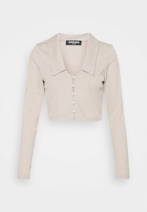 TURLINGTON  - Cardigan - taupe