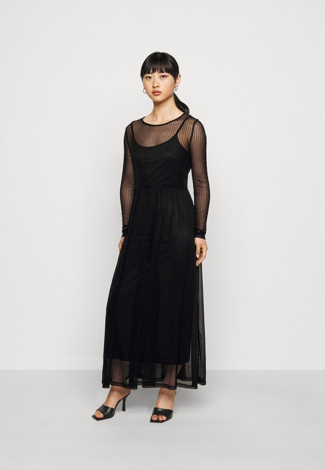 NMEMBER DRESS - Day dress - black