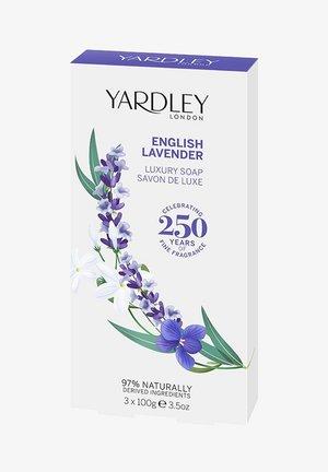 LUXUS SEIFE ENGLISCHER LAVENDEL 3X100 G  - Soap bar - -