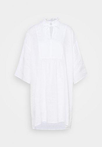 Shirt dress - white light