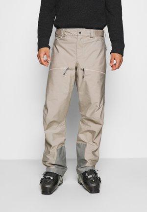 PURPOSE PANTS - Snow pants - sandstorm