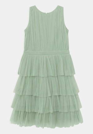 TIERED - Cocktail dress / Party dress - misty jade