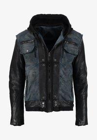 Be Edgy - BEMAX D - Denim jacket - black/indigo - 5