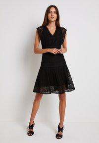 Pinko - SHANNON DRESS - Cocktail dress / Party dress - black - 0