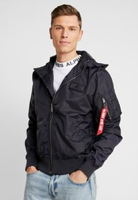 Alpha Industries - Bomber Jacket - iron grey - 0