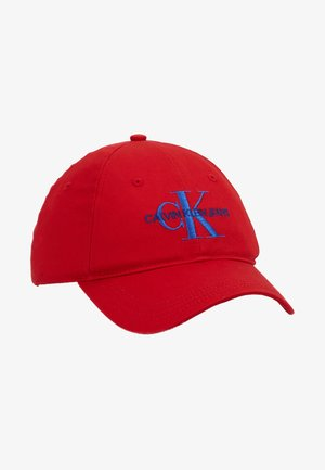 MONOGRAM WITH EMBROIDERY - Cap - red
