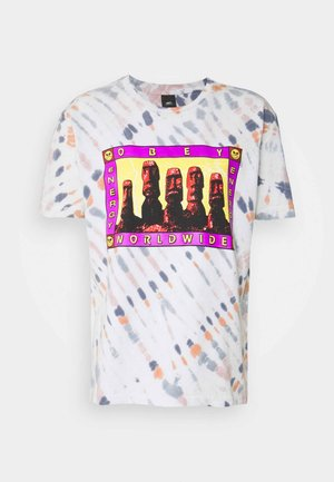 ENERGY - T-shirt med print - pink agate