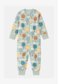 Lindex - BALLOONS & CLOUDS UNISEX - Pyjamas - light aqua - 0