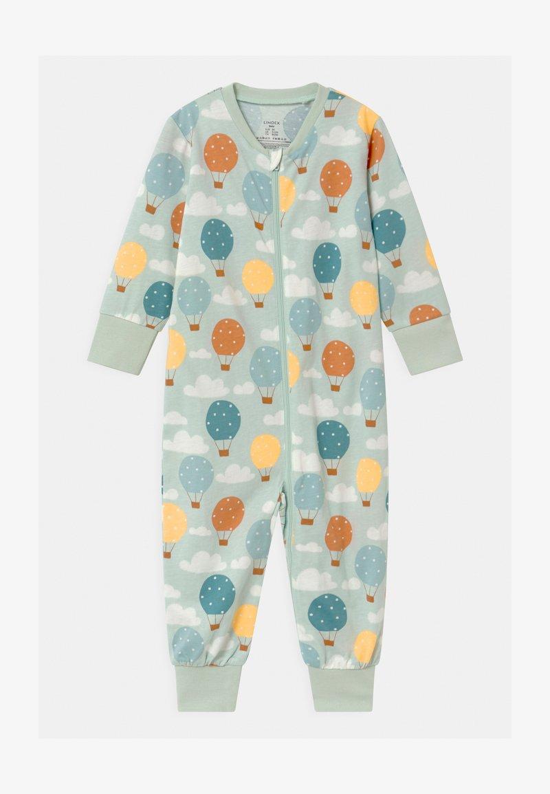 Lindex - BALLOONS & CLOUDS UNISEX - Pyjamas - light aqua