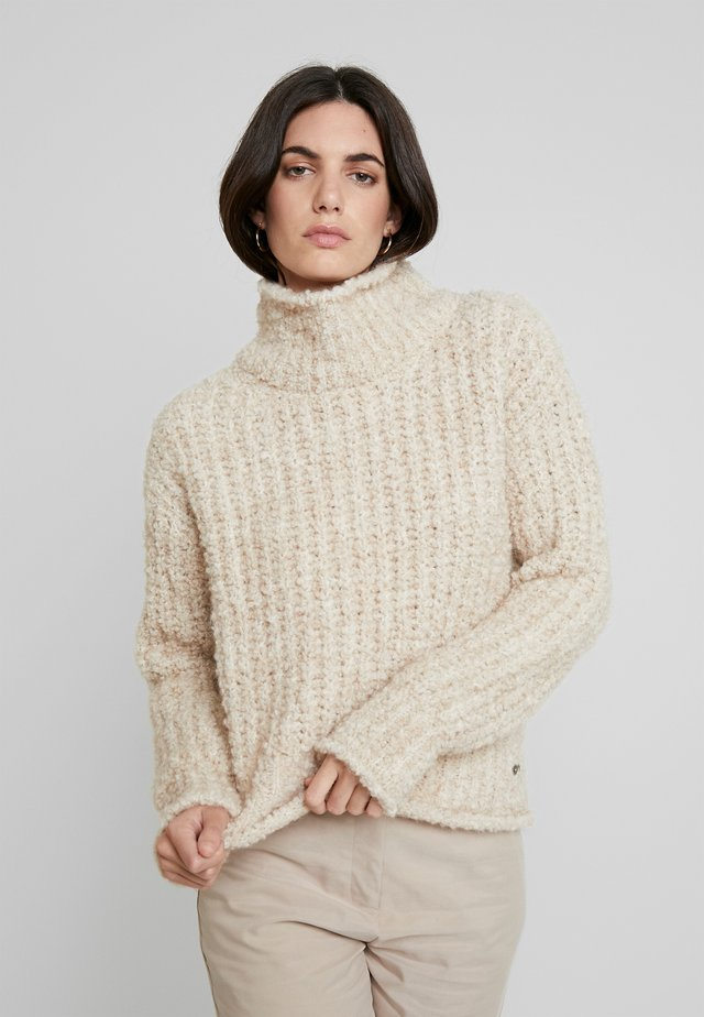 JUMPER - Strikkegenser - cream