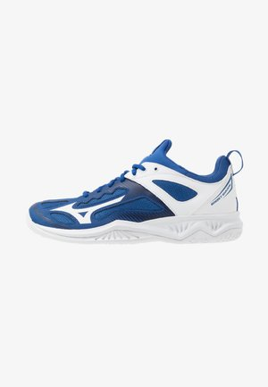 GHOST SHADOW - Handball shoes - true blue/white/medieval blue