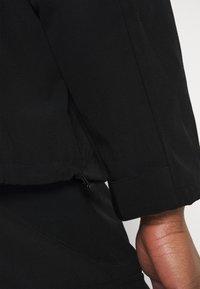 Mennace - CRINKLE TECH TRACKSUIT JACKET - Summer jacket - black - 5