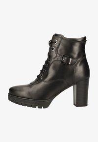 NeroGiardini - Lace-up ankle boots - black bk 100 - 0
