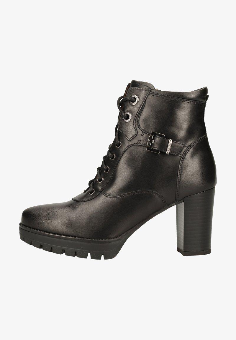 NeroGiardini - Lace-up ankle boots - black bk 100