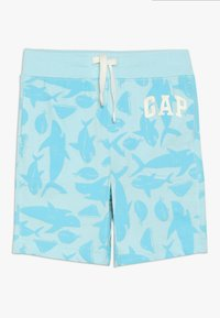 GAP - TODDLER BOY LOGO - Kraťasy - dockside blue - 0