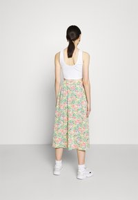 Monki - SIGRID BUTTON SKIRT - A-line skirt - multicolor - 2