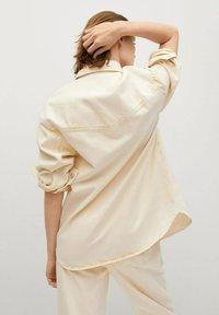 Mango - Button-down blouse - pastelgeel - 2