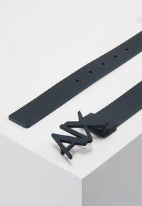 Armani Exchange - BELT - Cintura - black/navy - 2