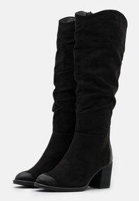 s.Oliver - Vysoká obuv - black - 2