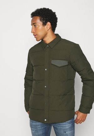 JACKET WITH FILLING - Light jacket - utility green