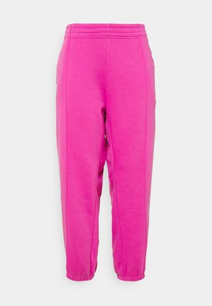 PANT TREND PLUS - Tracksuit bottoms - active fuchsia/white