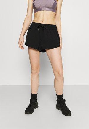 LIFESTYLE MOVE JOGGER SHORT - Sports shorts - black/mid grey marle