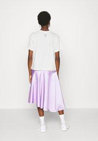 JDY - PEANUT LIFE PRINT - Print T-shirt - cloud dancer - 2