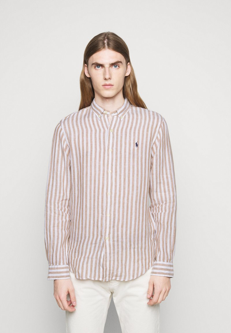 Polo Ralph Lauren - Skjorta - khaki/white