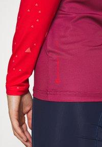 Triple2 - SWET NUL WOMEN - Langarmshirt - beet red - 5