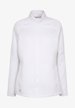 TEXTURE FULL ZIP  - Training jacket - white