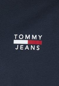Tommy Jeans Plus - CHEST LOGO TEE - Basic T-shirt - twilight navy - 2