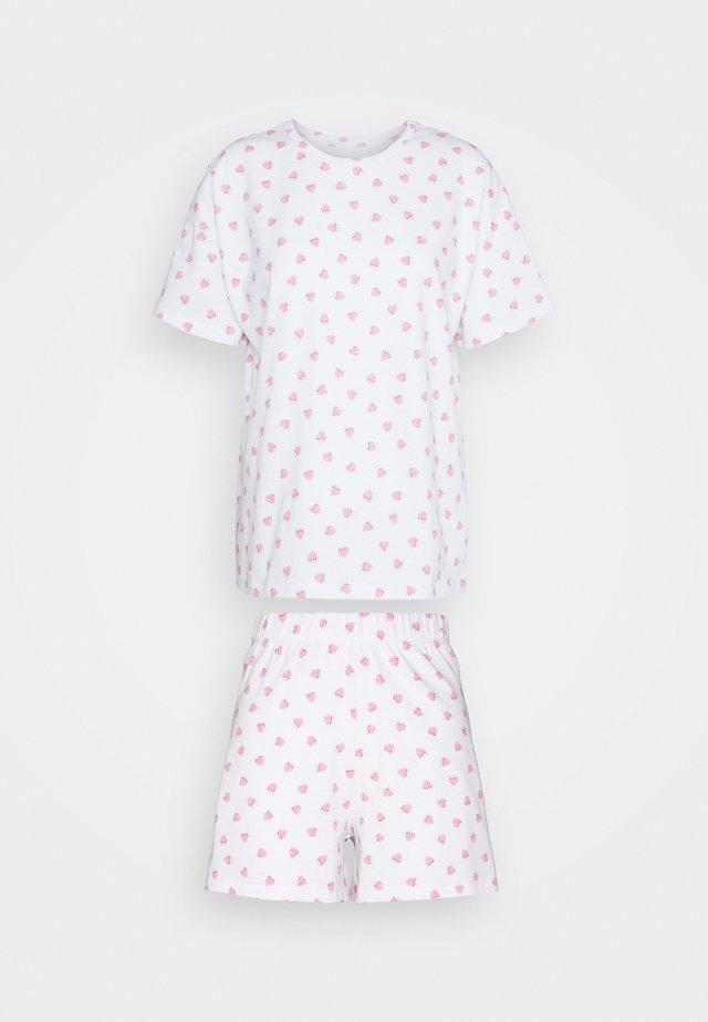 ONLHAILEY NIGHTWEAR - Piżama - white
