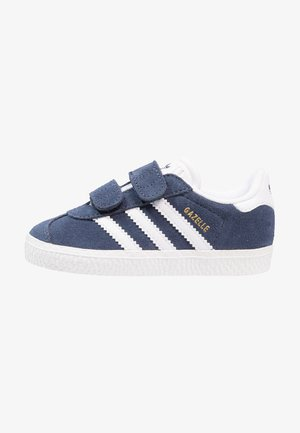 GAZELLE - Sneaker low - collegiate navy/footwear white